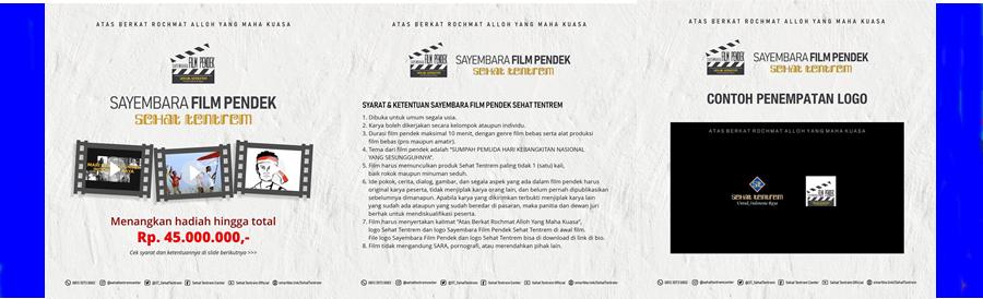 SAYEMBARA FILM PENDEK SEHAT TENTREM